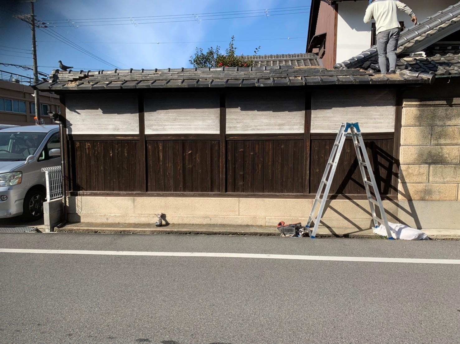 門塀改修工事