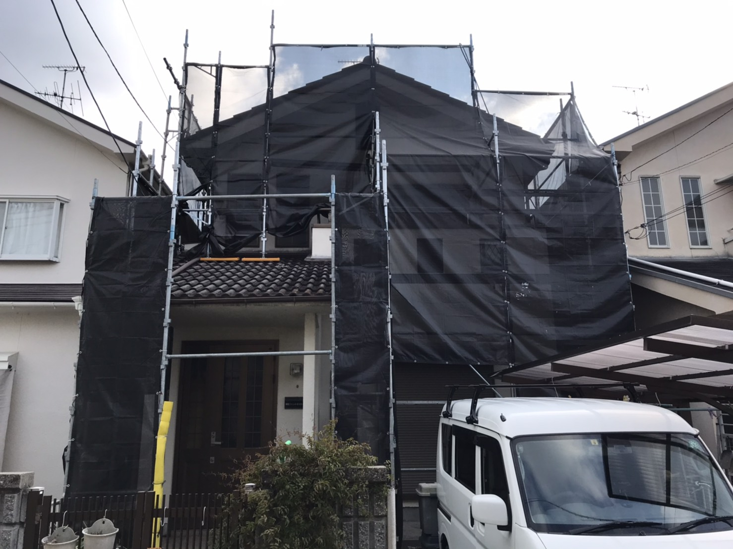 外部塗装工事